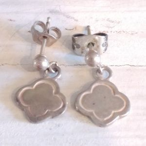 Jewelry - Vintage Small Solid Sterling Silver 925 Earrings